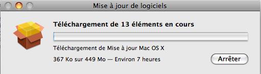 mac os X v10.5.7