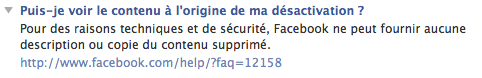 faq facebook