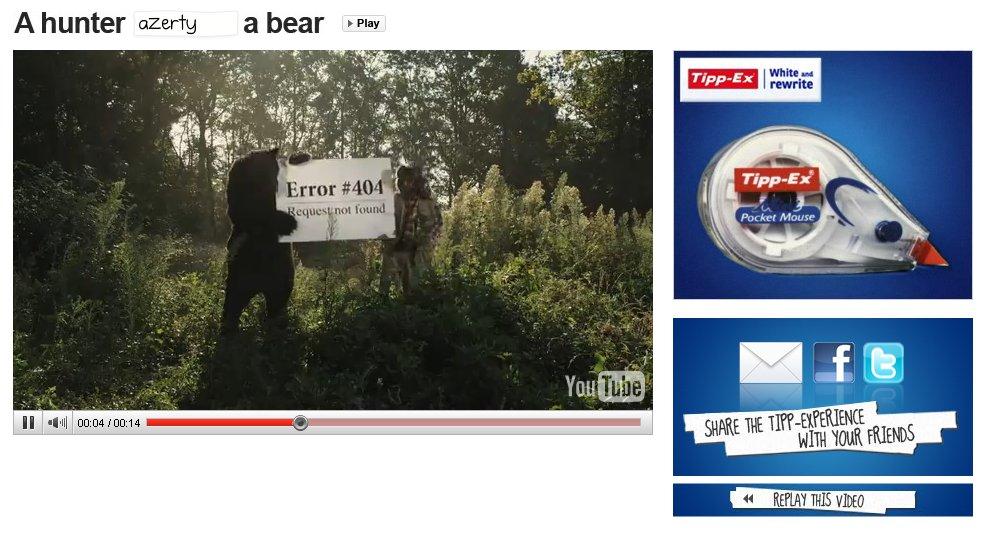 tipp-ex bear hunter