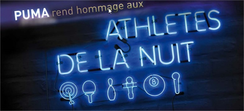 Puma Social athletes de la nuit
