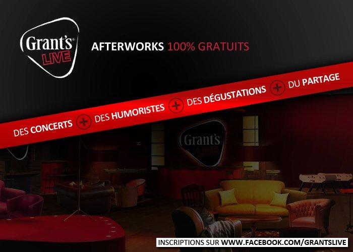 Afterworks Grant's Live