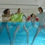 La serviette sportive de Nabaiji et sa pub vraiment cool
