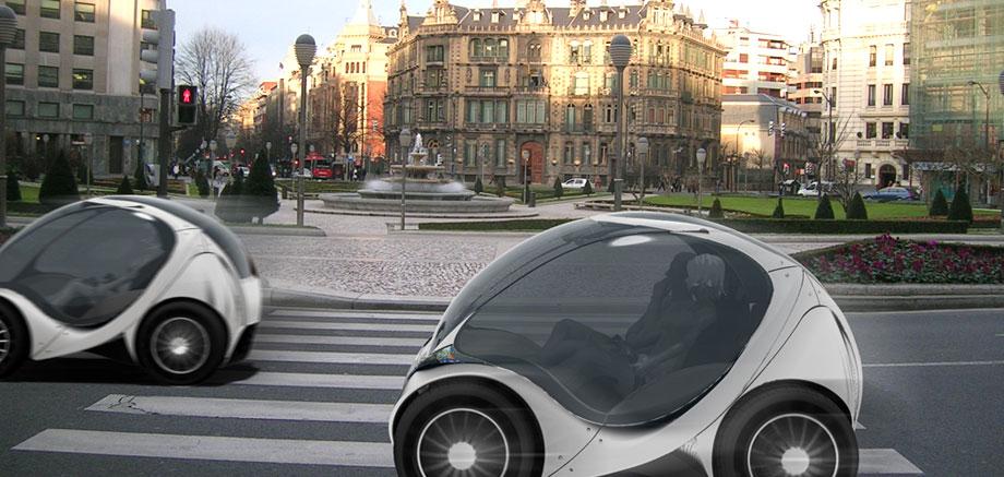 la meilleure automobile citadine la hiriko city car titlap. Black Bedroom Furniture Sets. Home Design Ideas