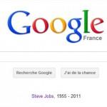 Google rend hommage à Steve Jobs
