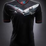 OL3D – Le maillot de l'OL 2012-2013 en 3D