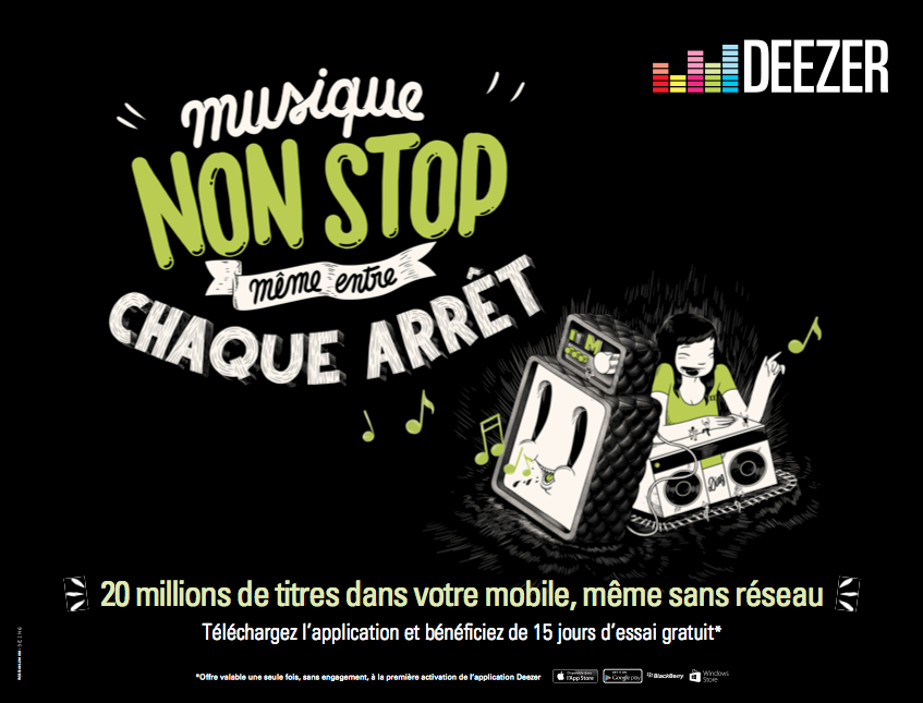 Deezer2 Deezer   Plus rien narrte la musique