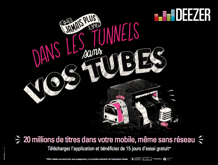 Deezer4 Deezer   Plus rien narrte la musique