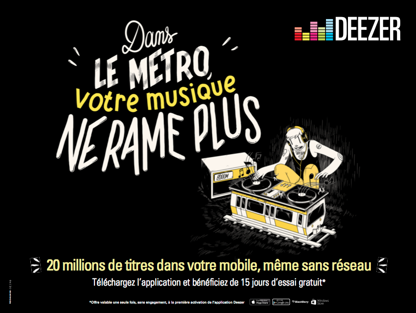 Deezer5 Deezer   Plus rien narrte la musique