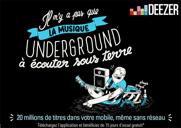 Deezer6 Deezer   Plus rien narrte la musique