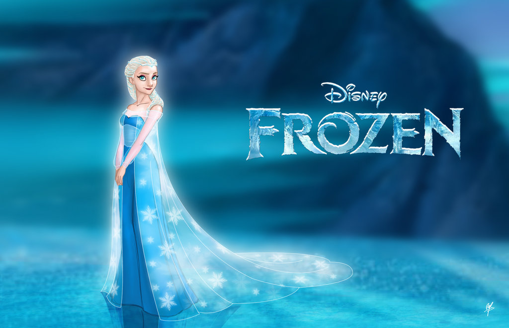 Elsa-The-snow-Queen-Frozen-disney-princess