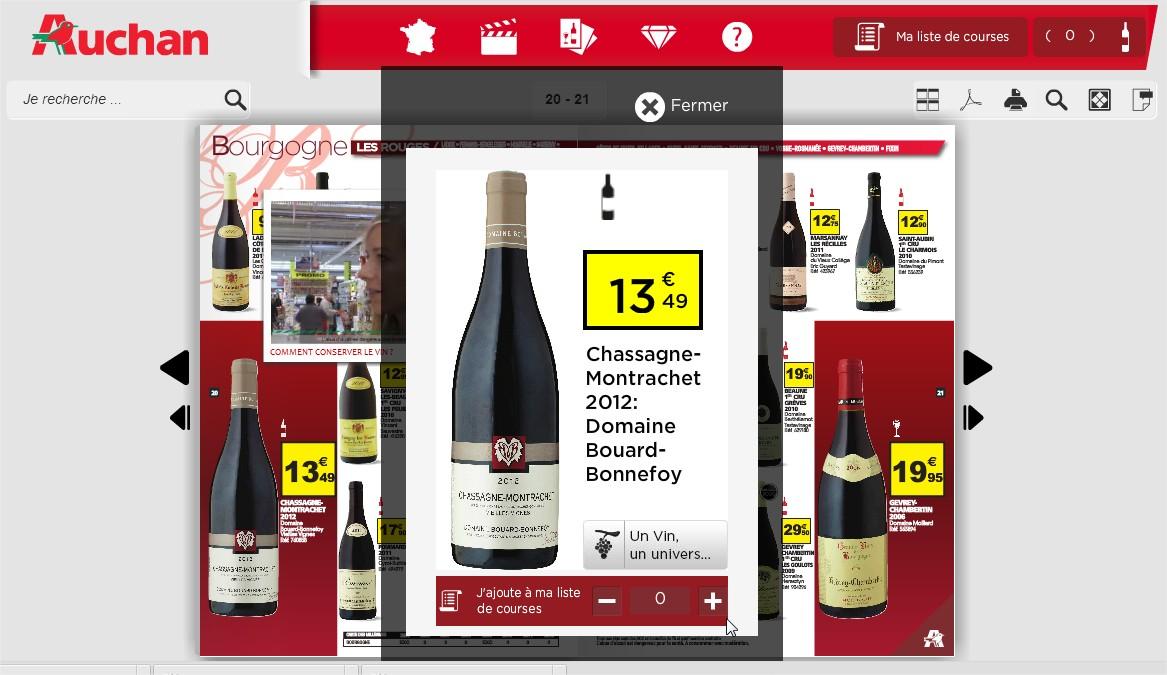 Auchan - Foire aux vins 2013