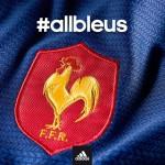 adidas presente le nouveau maillot de l'equipe de France de rugby 2013-2014