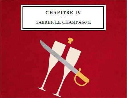 sabrer Champagnes G.H.Mumm & Cie