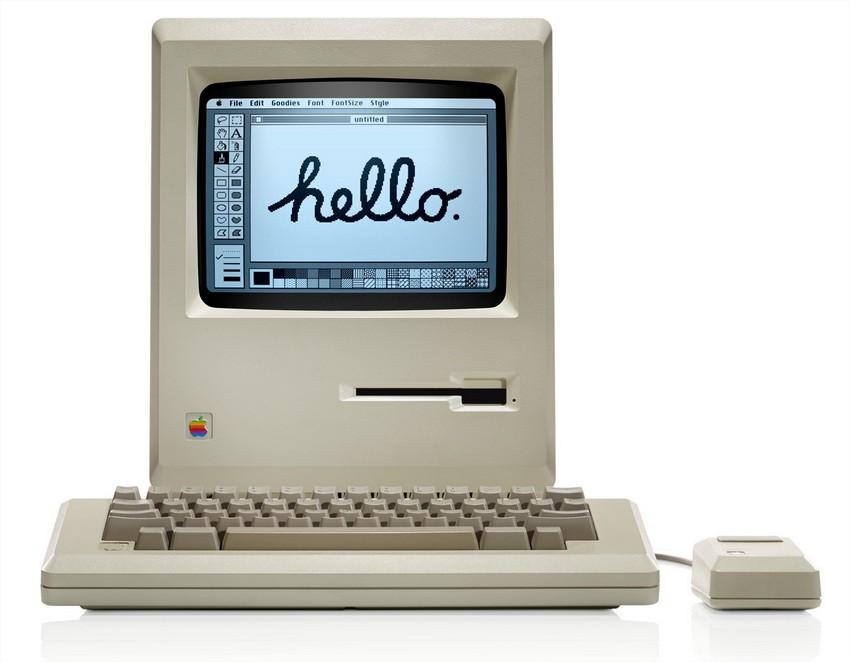 MAC 1984 hello