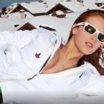 Les photos sexy de Jackie Chamoun engagée aux JO 2014 de Sotchi