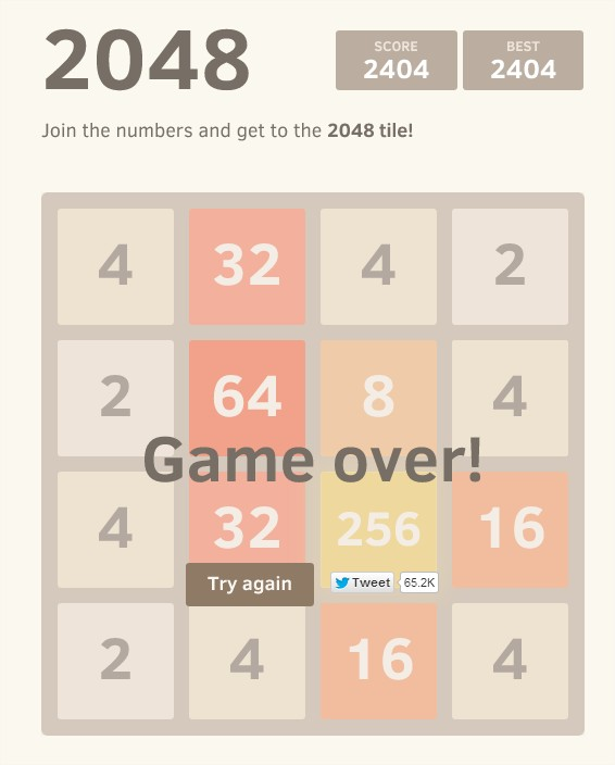 2048 - 2404 points