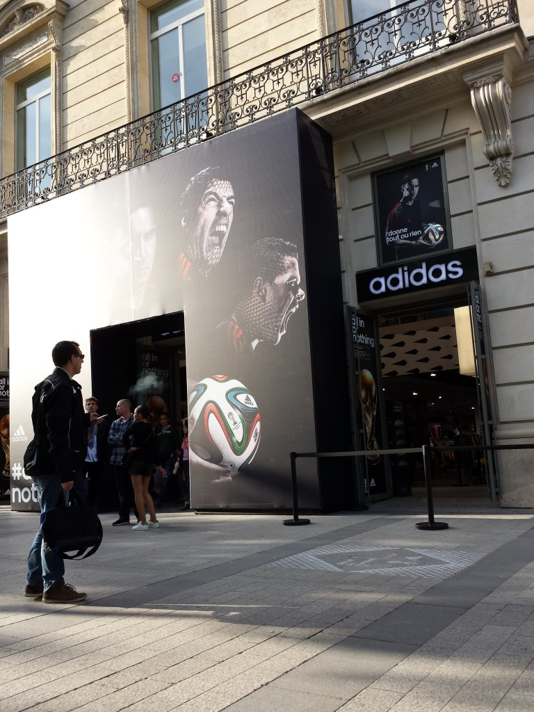 adidas store champs elysee