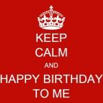 KEEP CALM I'M 30 !