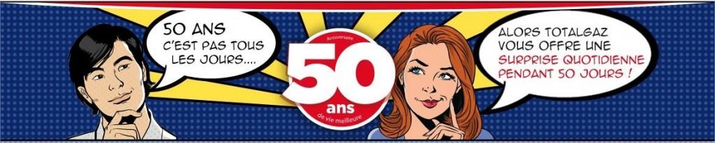 50 ans - Totalgaz