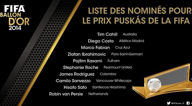 puskas2014 nominés