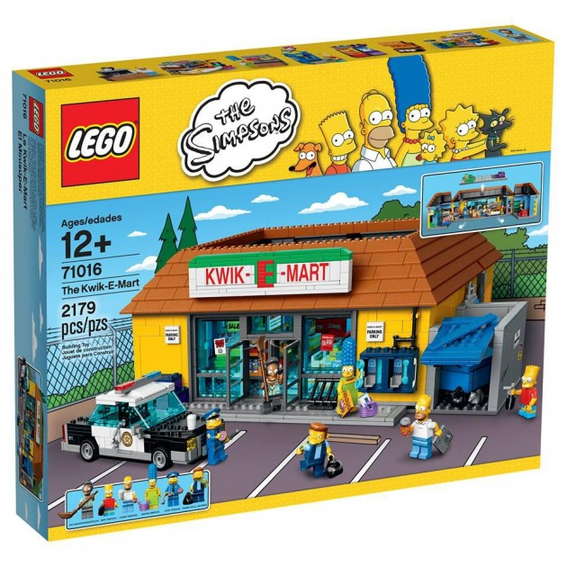 the Simpsons - The Kwik-E-mart-08