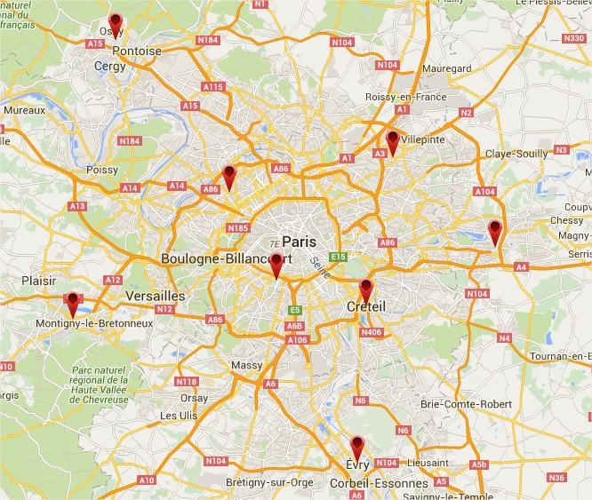 adidas ace 16 Ile de France