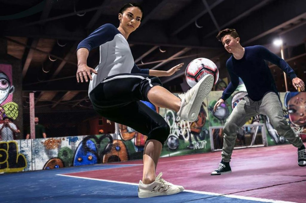 volta football - street foot