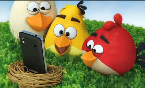 Angry Birds - Samsung Galaxy Ace