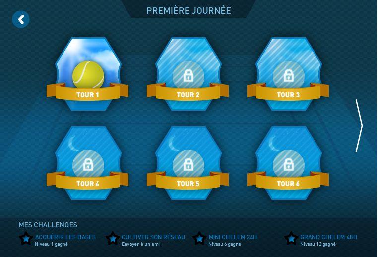Rexona challenge premiere journee