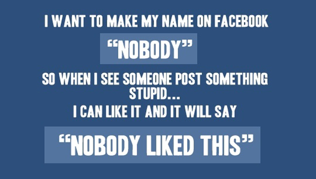 Nobody-on-facebook