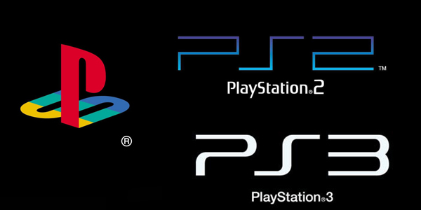 logo sony playstation 1 2 3