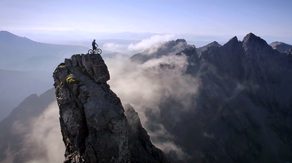Danny Macaskill the ridge
