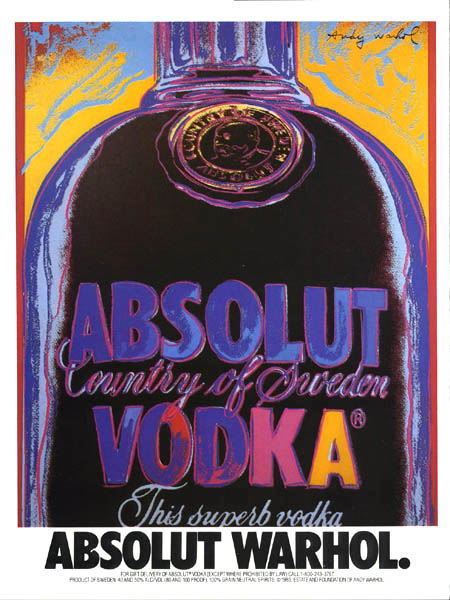 warhol absolut vodka