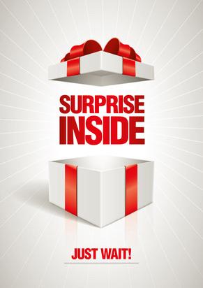 cadeau de noel surprise